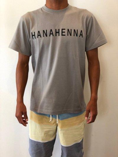 画像1: オリジナルTシャツ(グレーベースにブラック文字)Mサイズ
